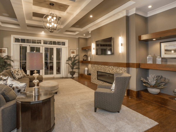 Interior Design and Finishing with Hensley Custom Building Group